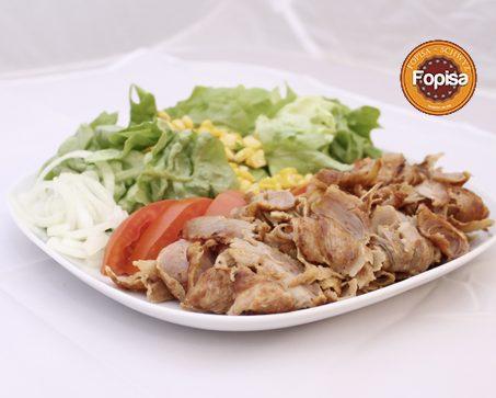 Kebab teller mit salat Fopisa Online Bestellen
