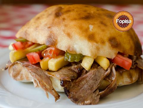 Kebab mit Pommes Fopisa Online Bestellen