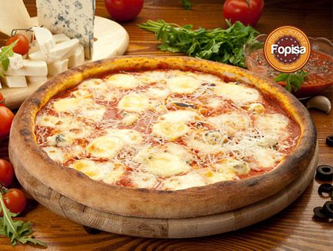 Quattro Formaggi Pizza Fopisa Online Bestellen