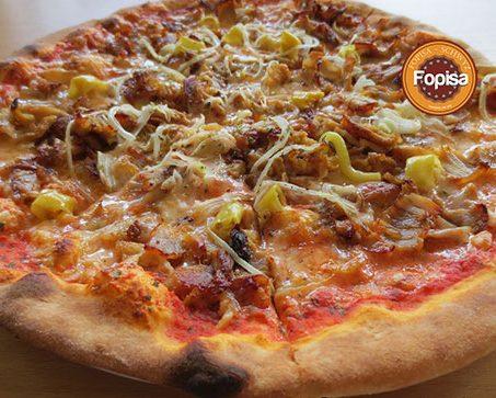 Doner Kebab Pizza Fopisa Online Bestellen